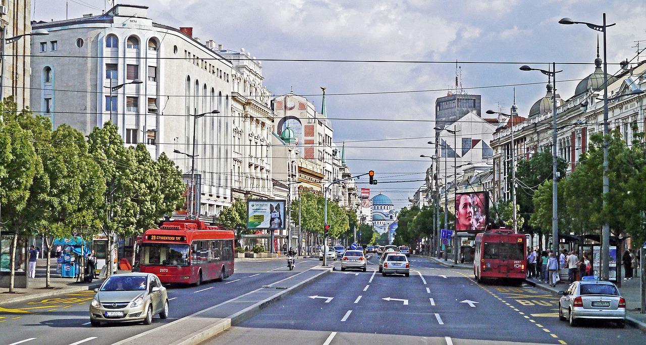 Sava Dom Belgrade Hl Main Thoroughfare Dome